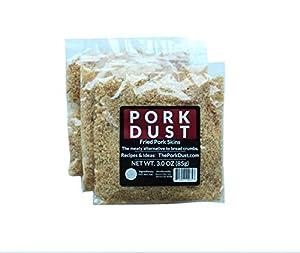Pork Dust - Pork Rind Breadcrumbs (Pack of 3)