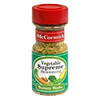 McCormick Vegetable Supreme Seasoning, 3.25-Ounce (Pack of 6)