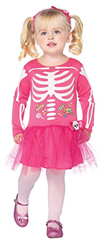 Baby Boys - Candy Skeleton Toddler Costume 3T-4T Halloween Costume