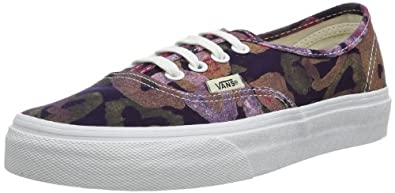 Buy Vans Ladies Authentic 7.5 M US Batik Pink by Vans