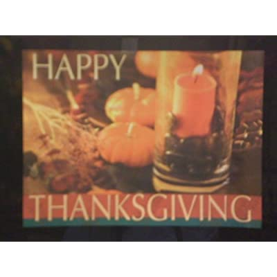 Seasonal Décor Thanksgiving Paper Placemats - 8.5 x 12.5