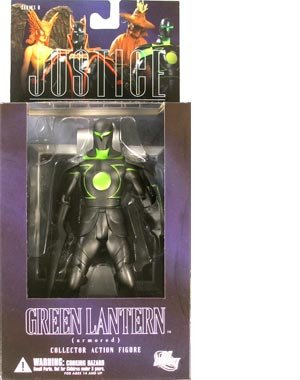 Picture of DC Direct Alex Ross Justice League 6: Green Lantern Armored Action Figure (B000REISCQ) (Green Lantern Action Figures)