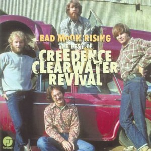 Bad Moon Rising: The Best of Creedence Clearwater Revival artwork
