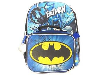 dc-comics-wb-batman-boys-school-backpack-with-dual-lunchpack-16-blue-black