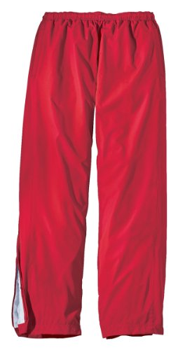 Sport-Tek Boys Elastic Waist Wind Pant,Small,True Red front-494044