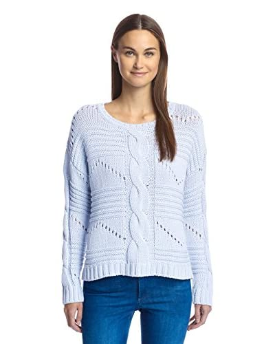 525 America Women's Center Cable Crop Sweater