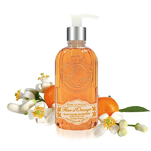 Jeanne en Provence Fleur d' Oranger (Orange Blossom) Liquid Soap 10 Fl.Oz. From France (Antler Hose compare prices)