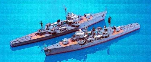 Skywave 1/700 Type No.2 Tei WWII IJN Escort Ship 2 Model Kit