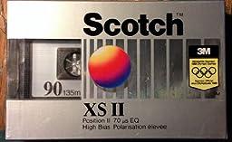 Scotch XSII High Bias Cassette Tape