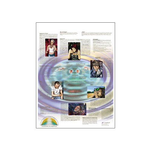 3B Scientific Glossy Paper Drug Dependence Anatomical Chart - 1