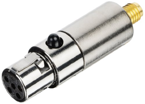 Countryman B2Dconsm Switchcraft Ta5F B2D Detachable Connector For Lectrosonics Transmitters (Silver)