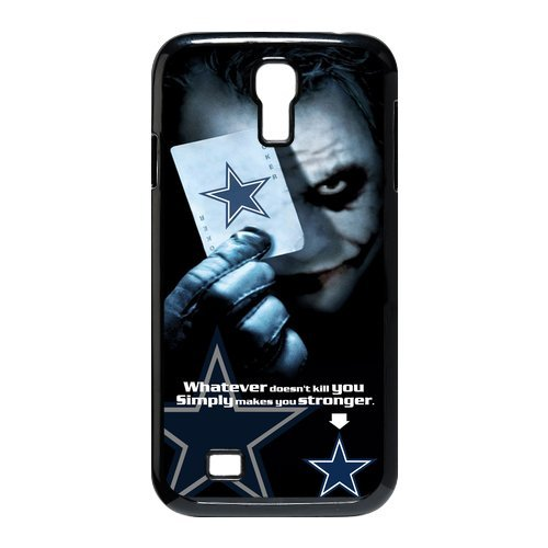 NFL Dallas Cowboys With Joker Poker Unique Design Samsung Galaxy S4 I9500 Hard Plastic Durable Back Case For Christmas Gifts at Amazon.com
