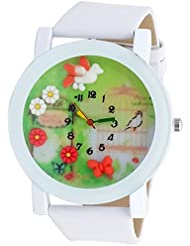 Super Drool White 3D Fun Dial Wrist Watch