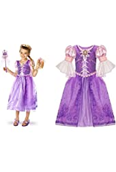 Disney Store Size Small [ 5 / 6 ] Tangled Featuring Rapunzel Costume Dress for Girls