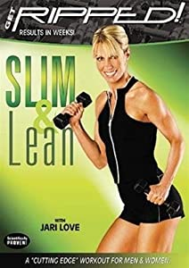Jari Love Get Ripped Slim and Lean DVD - Region 0 worldwide