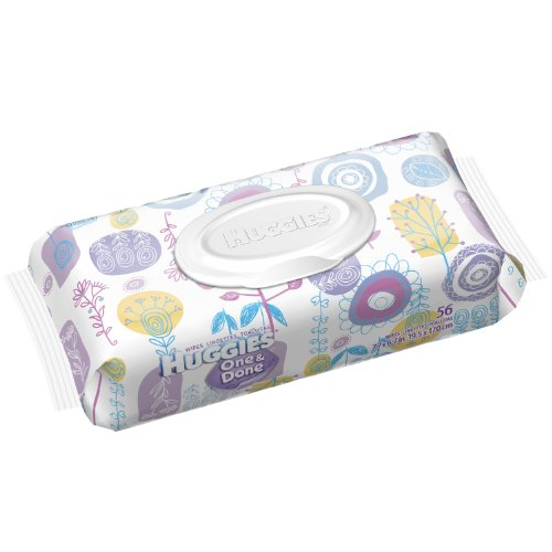 Huggies One and Done Fragrance Free Baby Wipes,