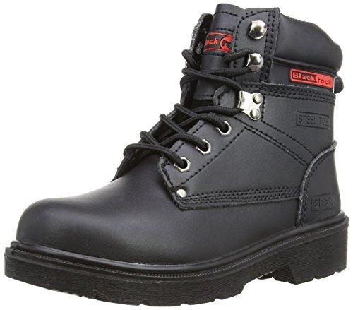 SF08,Unisex-Erwachsene Sicherheitsschuhe, Schwarz (Black), 47 EU ( 12 UK)
