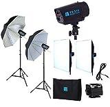 商品撮影ストロボ110w2灯フルセット