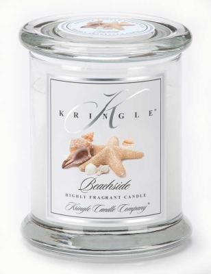 BEACHSIDE Medium Classic 50 Hour Apothecary Jar Candle by Kringle Candles