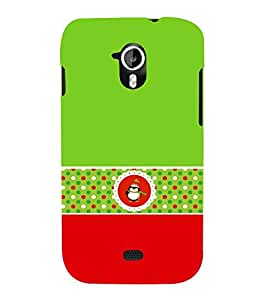 Green Owl 3D Hard Polycarbonate Designer Back Case Cover for Micromax Canvas HD A116 :: Micromax Canvas HD Plus A116Q