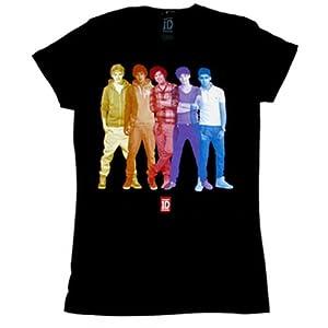 One Direction - Overlay Junior Girlie Babydoll T-Shirt