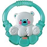 Fisher Price - Sonajero y mordedor oso polar (Mattel P6954)