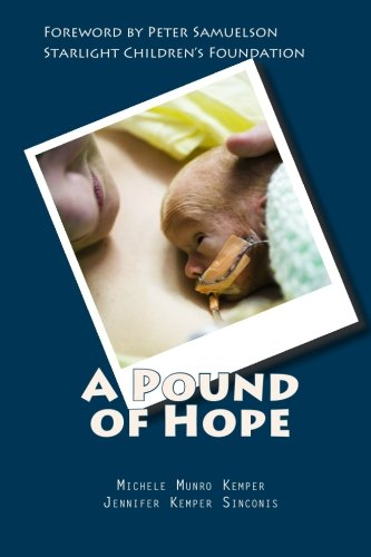 A Pound of Hope: The true story of heart-wrenching struggles for survival, devastating financial loss, and the power of hope that comes with extremely premature babies.