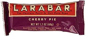 LARABAR Fruit & Nut Food Bar, Cherry Pie, Gluten Free, 1.7-Ounce (Pack of 16)