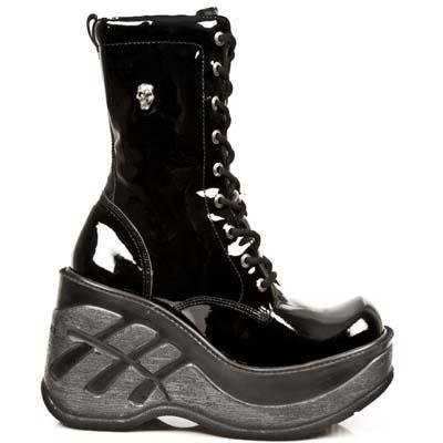 New Rock Cuna Sport Boots Women - Black - Euro 38 / UK 5