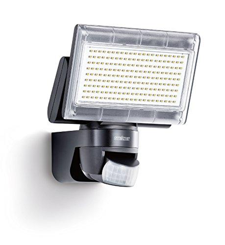 Steinel-Sensor-LED-Strahler-XLED-Home-1-schwarz-LED-Scheinwerfer-mit-140-Bewegungsmelder-und-max-14-m-Reichweite-1020-Lumen-Helligkeit-Lichtfarbe-6700-K-Kalt-wei-003661-Energieklasse-A