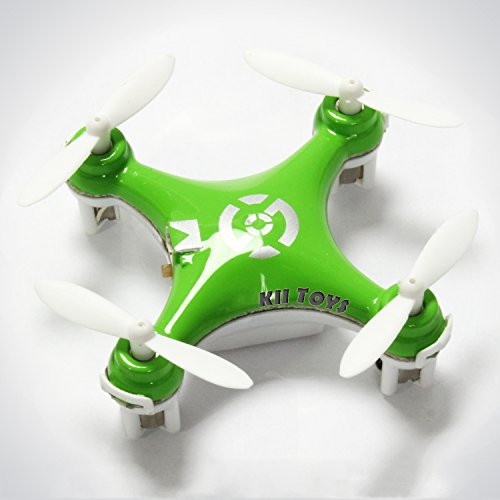 KiiToys® Quadcopter Drone RC Helicopter Quad Copter Toy - Micro Mini