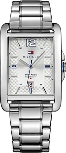Tommy Hilfiger Herren-Armbanduhr Analog Quarz Edelstahl 1791201 thumbnail