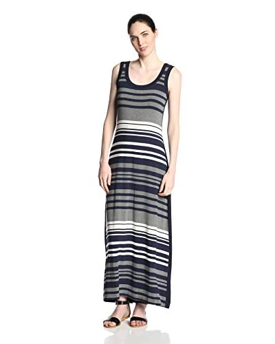 Karen Kane Women's Contrast Maxi Dress