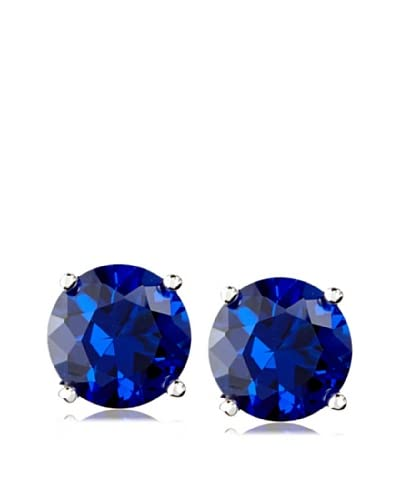 "CZ BY KENNETH JAY LANE 4Cttw Cz Stud Post Earrings, .3"" Diameter Size"
