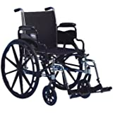 """Invacare Tracer SX5 Wheelchair, 18"""" x 16"""" with Desk Length Flip-Back Arms"""
