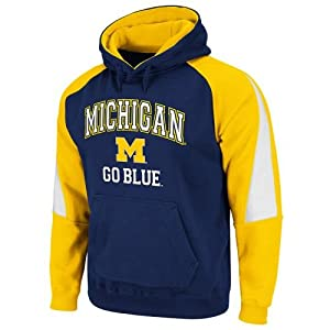 Michigan Wolverines Playmaker Hooded Sweatshirt by SportShack INC