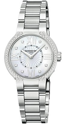 NEW RAYMOND WEIL NOEMIA LADIES WATCH 5932-STS-00995