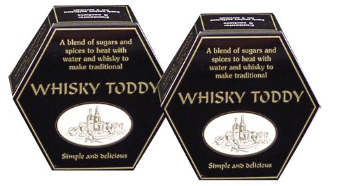 Two Hot Whisky Toddy Gift boxes, each containing 5 Fairtrade Whisky Toddy spice sachets
