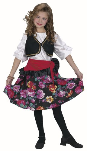 Child's Gypsy Girl Costume Size: Youth Small 4-6