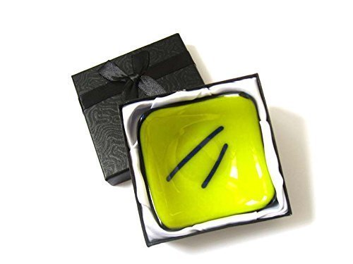 tiny-yellow-fused-glass-candle-holder-dish-modern-design-occasion-dish-for-spices-candles-rings-or-a