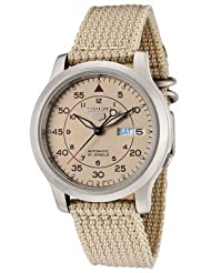 Seiko SNK803 Automatic Watch Canvas