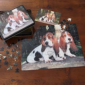 Cheap PersonalizationMall.com Pet Picture Personalized Jigsaw Puzzle – Horizontal (B001PLM4G6)