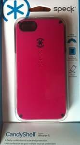 iPhone 5 CandyShell Raspberry Pink/Black (SPK-A0480)