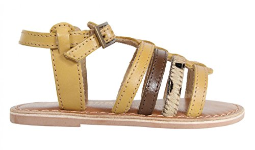 Sandali per Bambina MTNG 83509 NAPPA LEATHER BEIGE size-map 29