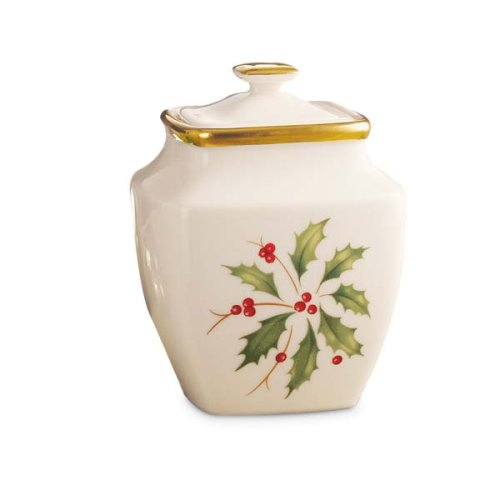 Lenox Holiday Square Sugar Bowl
