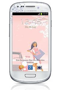 Samsung Galaxy S3 mini Smartphone débloqué 4 pouces 8 GB Android 4.1 Jelly Bean La Fleur (import Europe)