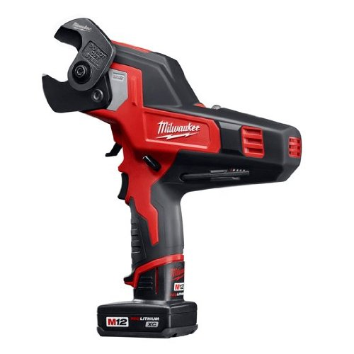 Milwaukee 2472-21XC M12 600 Mcm Cable Cutter Kit (Color: Red)