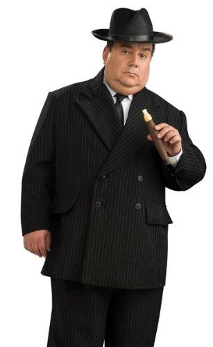 Rubies Pinstripe Gangster Suit Plus Size Halloween