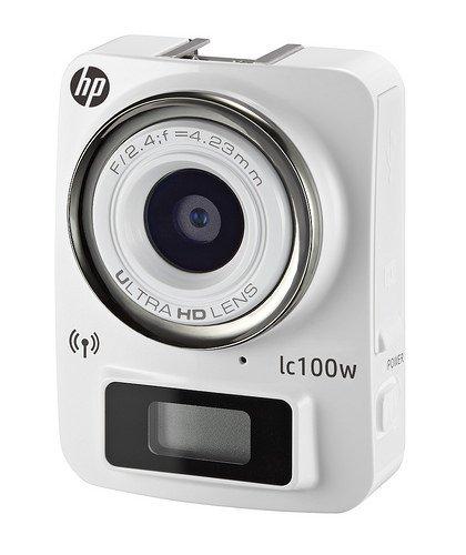 HP LC100W Camescopes Caméra de Sport 1080 pixels