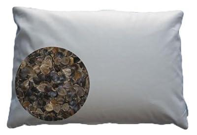 "Beans72 Organic Buckwheat Pillow - King Size (20"" x 36"")"